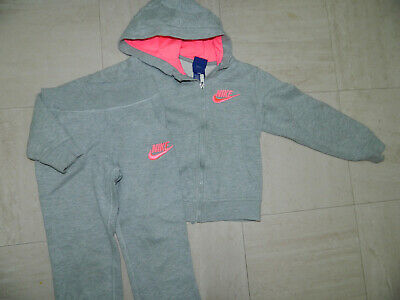 Girls' nike Sports wear Tracksuit Hoodie Age 6/7 years Slim Fit