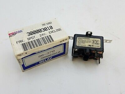 White Rodgers 90-370 Relay SPDT 25A 277VAC Coil 24V 50/60Hz Global 300003010 NOS