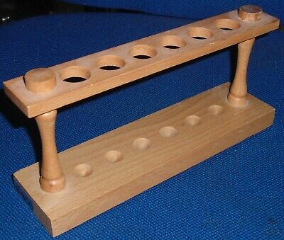 """Eisco Labs"" Wooden Test Tube Rack - 6 holes"