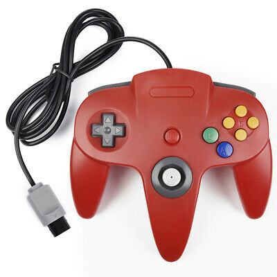 For Nintendo 64 N64 Controller Gamepad Joystick Video Game Console Classic Wired