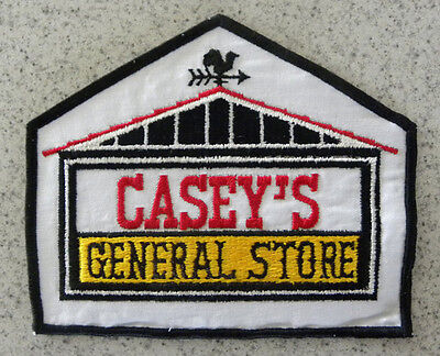 """Casey's General Store,Caseys Convenience Gas Station Large 7"""" Shirt,Jacket Patch"""