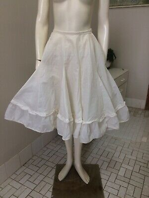 Original Vintage 50s Petticoat, Full Skirt Rope Petticoat,Pinup Rockabilly Retro