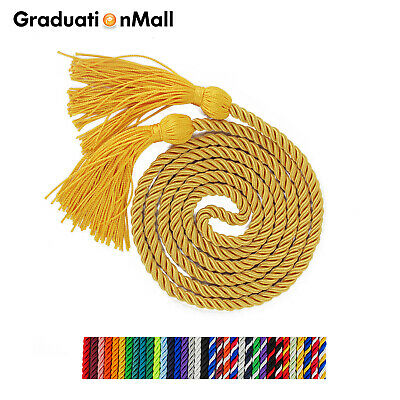 "GraduationMall Graduation Honor Cord Polyester Braided Cords 68"" Tassel"
