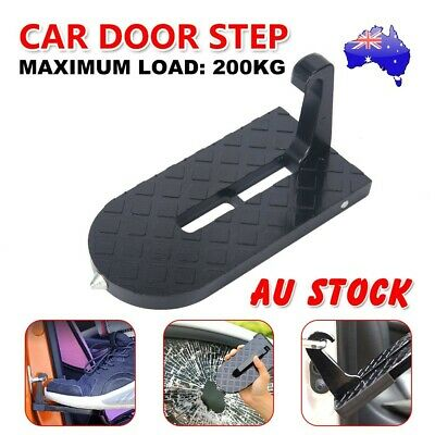 Car SUV Door Step Doorstep Vehicle Access Roof Latch Easily Rooftop Pedal Hook