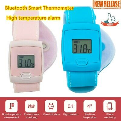 Bluetooth smart thermometer to monitor baby's temperature in real time