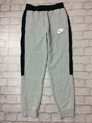 Nike Boys Age 13-15 Years Xl Hybrid Fleece Joggers Grey Junior Teens J
