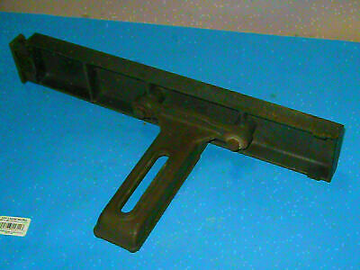 """RARE STEEL Shopsmith 10er 10e EXTENSION TABLE  3X17"""" all cast steel    03p4"""