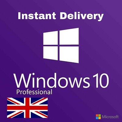 GENUINE Windows 10 Professional License Key 🔑 - 32/64BIT - Instant Delivery