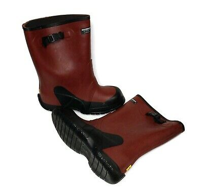 """SALISBURY Dielectric Overboot 14""""  Red/Black 21406WT - Size 10 & 11 Available"""