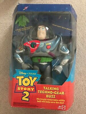 Buzz Lightyear Toy Story 2 Talking Techno-Gear Buzz | Opened but in Original Box