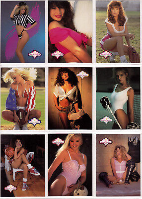1992 Benchwarmer Series I Complete 120 Trading Card Set Made By Bench Warmer