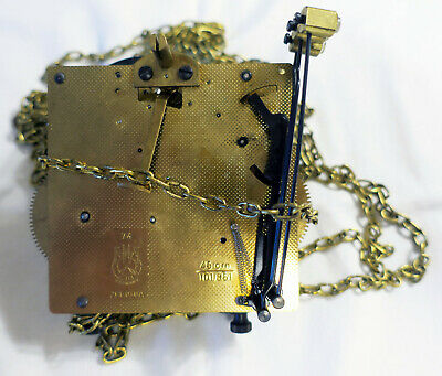 HERMLE Movement 261-030A from Pendulum Clock 45cm Chain 101.851 *FOR SPARE-PARTS