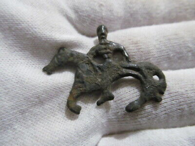 Ancient Bronze Anthropomorphic Vikings, Kievan Rus 10-11 AD №691/1 (restoration)