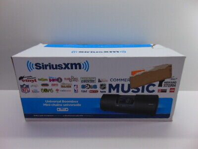 SiriusXM Universal Boombox SXMB2C (LOOK DESCRIPTION) T115