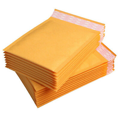 20x Kraft Bubble Envelopes Padded Mailers Shipping Self-Seal Bags Different Size