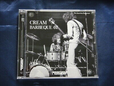 Cream Barbeque 67 May 29 1967 CD 1 Disc 8 Tracks Moonchild Records Rock Music