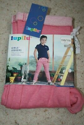 Lupilu girls joggers pants trousers 4-6 years 110-116 cm pink