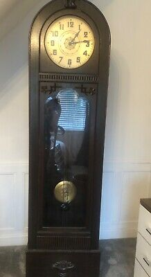 Small Peter Krag Grandfather Clock