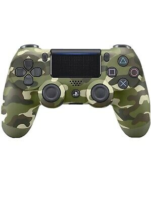 DualShock 4 Controller Green Camouflage V2 Brand New Sealed