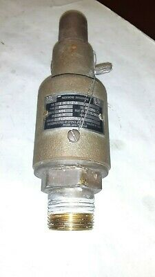 """NEW ROCKWOOD SAFETY RELIEF VALVE 1//2/"""" X 3//4/"""" RXSO 68E BD3 160-2"""
