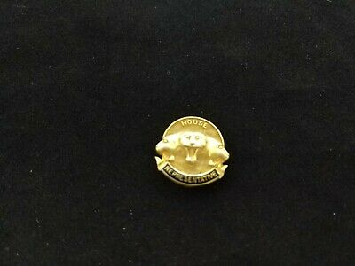 Rare House Of Representative Gold Filled Pin