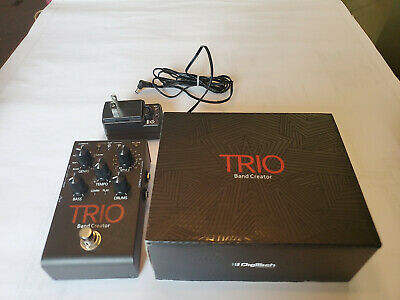 DigiTech TRIO Band Creator Guitar Effect Pedal, Condition is pristine