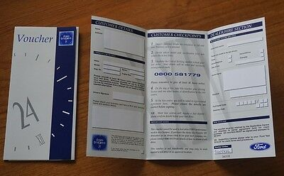 FORD CARS 24 Hour Test Drive Expired Voucher 1990s