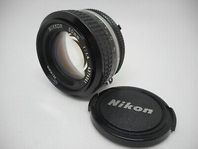 【EXC+++】 Nikon Ai Nikkor 50mm F1.4 From Japan 1629