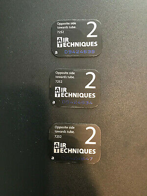 Air Techniques Scanx Phosphor Dental Plates Genuine Size 2 3Pk