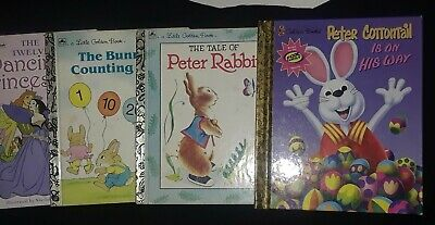 Little Golden Books Lot of 10 Unsorted Mixed Titles