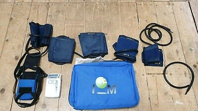 NuMed 24 hour Ambulatory Blood Pressure Monitor set with different size cuffs