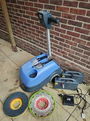 Complete Numatic TTB 1840 Scrubber Dryer / 2 Batteries Pack, 2 Brushes & Charger