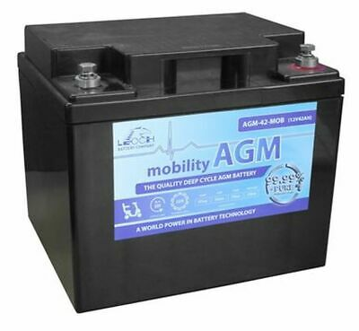 Leoch Mobility AGM AGM-50-MOB Mobility Scooter Battery 12v 50Ah NEW