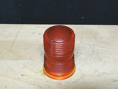 Arrow - Emergency Amber Glass Globe - Model 20017 - New No Box