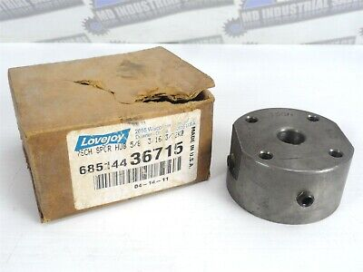 "Lovejoy 7SCH 5/8 / 68514436715 Fixed Bore Coupling Spacer Hub, bore: 5/8"" (NEW)"