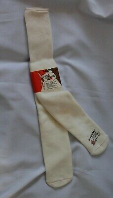 Vtg Wigwam Orlon Over the Calf Tube Socks Fits Size 11-17 7-Footer Very Cool!!