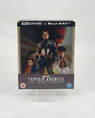4k Ultra HD Blu ray Captain America First Avenger Neuf et RARE