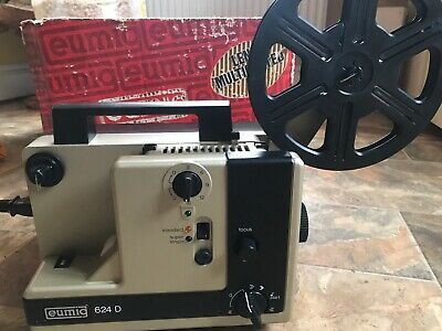 SUPERB EUMIG 624D Dual Format 8mm Cine Projector TESTED WORKING
