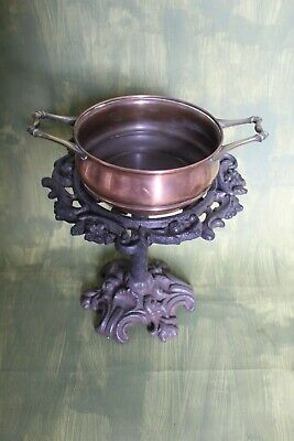 Arts and Crafts copper pan by Benson