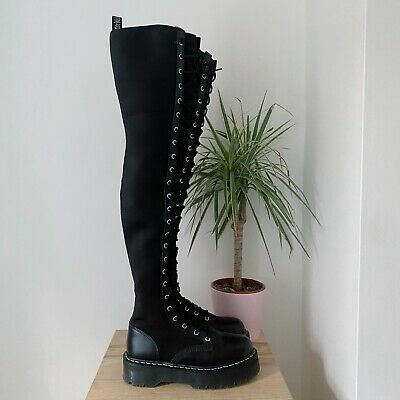dr martens over the knee boots