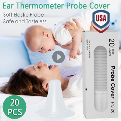 Braun Probe Covers Thermoscan Replacement Lens Ear Thermometer Filter Caps Set~