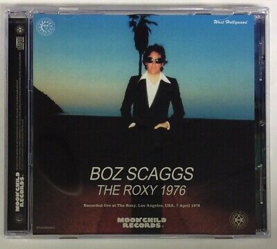 Boz Scaggs The Roxy 1976 CD 1 Disc 12 Tracks Moonchild Records Music Rock F/S