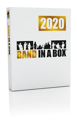 New PG Music Band in a Box Pro 2020 for Mac-UPGRADE from Band in a Box Pro 2019