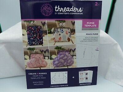 Zip Pouch NEW Crafter/'s Companion Threaders Sewing Gift Craft DIY Fabrikit
