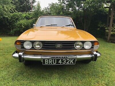 1972 Triumph Stag 3.0 V8 in Saffron Yellow