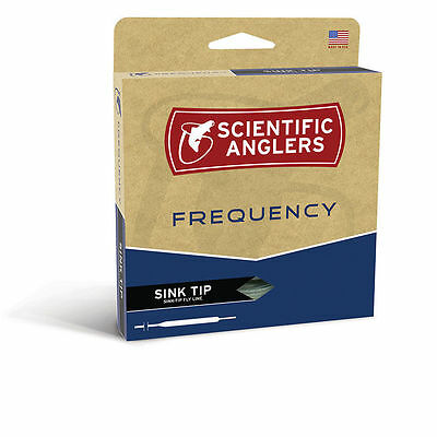 Scientific Anglers Frequency Wf-7-F/S #7 Weight Type 3 10 Foot Sink Tip Fly Line