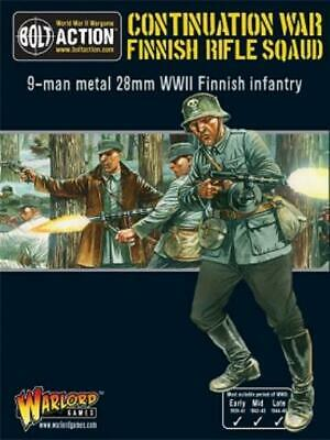 Warlord Bolt Action Finnish 28mm Finnish Army Infantry Squad Box MINT