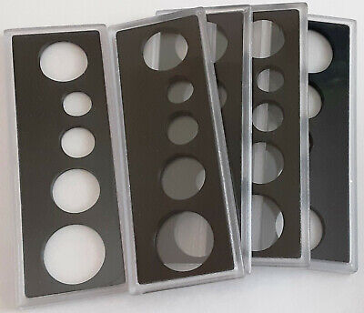 Canada Hard Plastic Coin Set Holder - See Item Details For Diameters