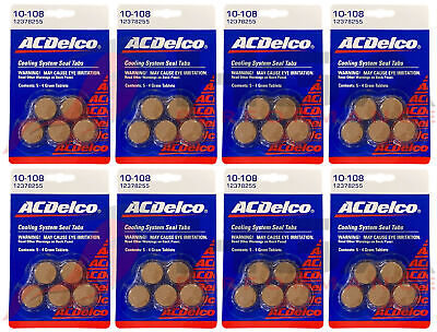 Genuine Gm Acdelco Cooling System Seal Tabs 10 108 12378255 Stop