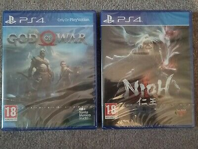 PS4 Exclusives - God of War & Nioh - Brand new factory sealed